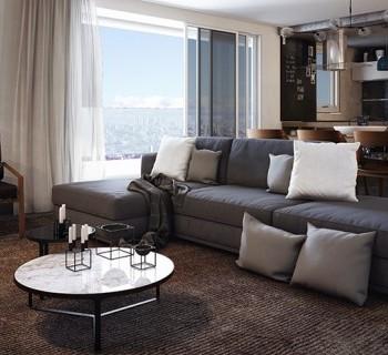 Sala - Apartamento Duplex